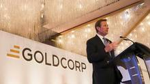 """This is not the only opportunity in the world,"" Goldcorp CEO Chuck Jeannes said in an interview Wednesday. (Ben Nelms/REUTERS)"