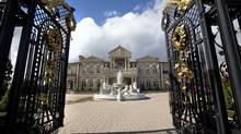 A 24,000 Square foot mansion located at 90 Rocmary Place in Vaughan, is up for sale. It's the most expensive home that's ever been put on the market in Vaughan -- and a style of abode on the brink of extinction. (Kevin Van Paassen/The Globe and Mail)