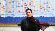 Denise Benson said the wide range of music that has been produced in Toronto is mind-blowing. (Fernando Morales/The Globe and Mail)