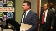 Toronto councillor Giorgio Mammoliti arrives to the compliance audit on his 2010 elections expenses, at Toronto City Hall, Toronto February 4, 2013. (FERNANDO MORALES/THE GLOBE AND MAIL)