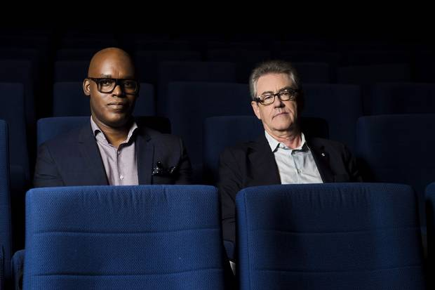 TIFF artistic director Cameron Bailey, left, is widely seen to be Mr. Handling's heir-apparent for the festival's top job.