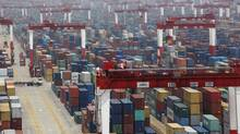 Yangshan Port in Shanghai. (Aly Song/Reuters)