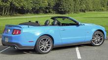 2012 Ford Mustang GT convertible. (Ted Laturnus for The Globe and Mail)
