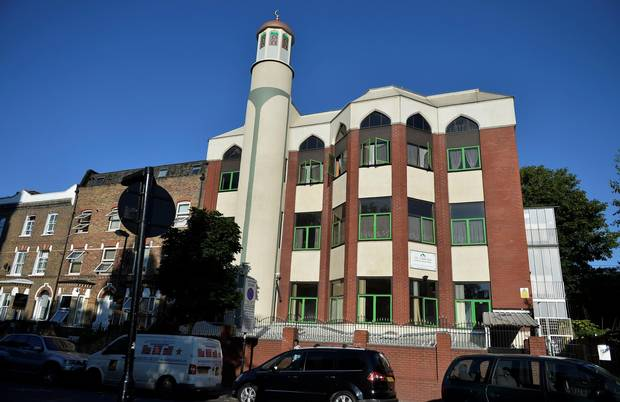 A general view of the Finsbury Park mosque.