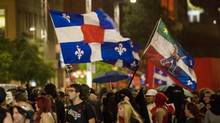 Student protesters march in Montreal on Aug. 1, 2012. (Graham Hughes/THE CANADIAN PRESS)