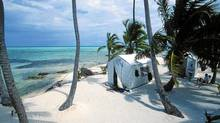 A private tent on a beach in Belize can be romantic. (Islandexpeditions.com)