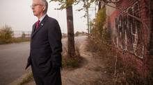 Canada's consul-general in Detroit, Ray Norton, has travelled around the state drumming up support for the proposal. (GEOFF ROBINS For The Globe and Mail)