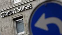 The logo of Swiss bank Credit Suisse is seen in Zurich, Switzerland in this file photo. (ALESSANDRO DELLA BELLA/AP)