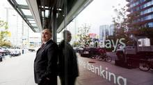 Larry Tomei, senior vice-president of retail distribution at CIBC, says the bank's extended Sunday hours are for people 'who just don't have the time.' (Michelle Siu/The Globe and Mail)