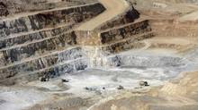 This open-pit gold mine belongs to Boro Gold mining Ltd. on the outskirts of Ulan Bator, shown on May 15, 2010. (ZEEV ROZENBERG/REUTERS)