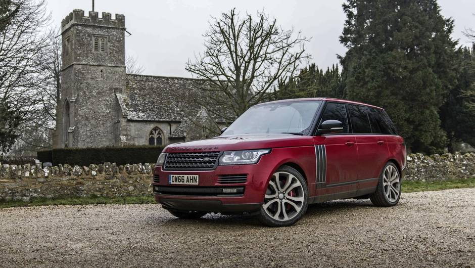 Review 2017 Range Rover SV A Dynamic Is Like Supercharged