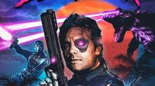 In the 1980s, two things were cool: cyborgs and ninjas. Naturally, the star of Blood Dragon is both.