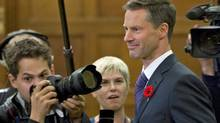 Nigel Wright, chief of staff for Prime Minister Stephen Harper, appears before the House ethics committee on Nov.2, 2010. (Adrian Wyld/The Canadian Press)