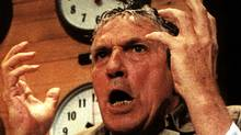 Howard Beale, played by Peter Finch, in the 1976 satire Network. AP/File