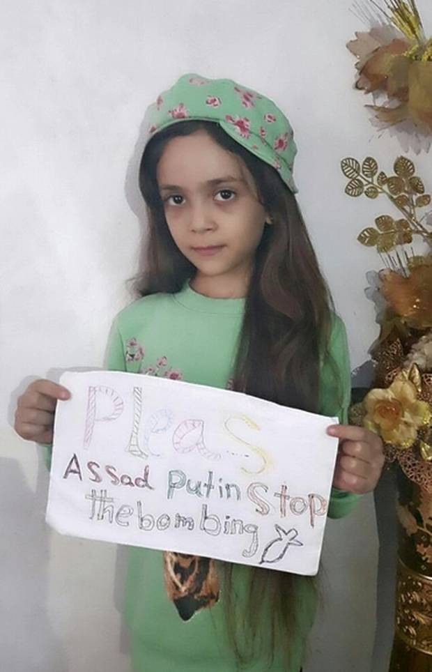 Bana Alabed, 7, has became a name and a face many outside of Syria can root for.