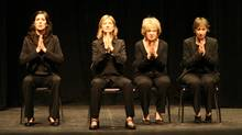 Women Fully Clothed - Teresa Pavlinek, Kathryn Greenwood, Jayne Eastwood and Robin Duke - on stage. (Rita Colucci/Rita Colucci)