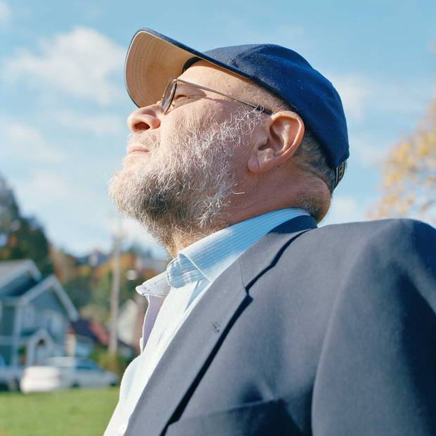 William Bernstein in a park near his Portland, Ore., home.