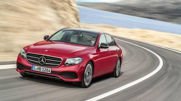 World Luxury Car: Mercedes-Benz E-Class.