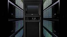 A view of some of the servers at a Google data storage facility in California. Under pressure from Google and other tech giants, U.S. President Barack Obama is moving to curtail the NSA's mass data sweeps. (Connie Zhou/Google)