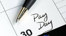 Canadian workers can expect an average salary increase of 2.6 per cent in 2014, according to a national survey of public and private sector employers conducted by the Hay Group. (Thinkstock)