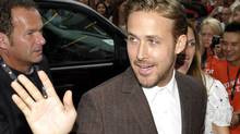 "Actor Ryan Gosling waves at the gala presentation for the film ""The Place Beyond The Pines"" at the 37th Toronto International Film Festival September 7, 2012. (MIKE CASSESE/REUTERS)"