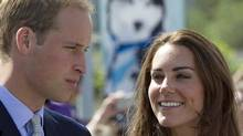 The Duke and Duchess of Cambridge are seen in Yellowknife, N.W.T. Tuesday, July 5, 2011 as they continue their tour of Canada. (JONATHAN HAYWARD/Jonathan Hayward/The Canadian Press)