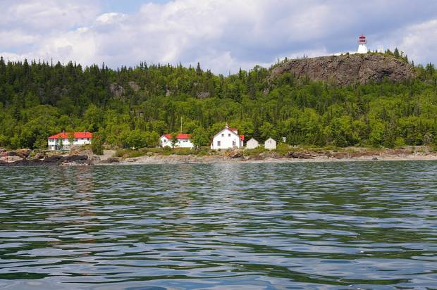 On Ontario's Slate Islands, caribou run wild and 10-pound rainbow trout shimmer in the waters.