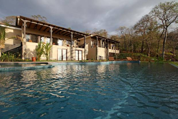 A photo on Facebook shows the Pallister residence in Tamarindo, Costa Rica.