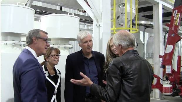 James Cameron is the L.A.-based investor behind the massive organic-pea-processing plant in Vanscoy, Sask.