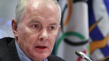 Former VANOC CEO John Furlong addresses a press conference in Vancouver, B.C. December 17, 2010. (Jeff Vinnick/The Globe and Mail/Jeff Vinnick/The Globe and Mail)