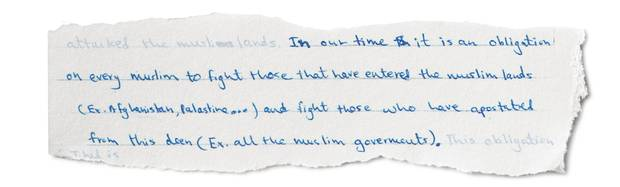 Letters from a Jihadi: Inside the mind of a Canadian accused