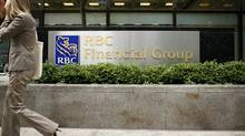 File photo of an RBC branch in the financial district of Toronto. (Ryan Carter/The Globe and Mail)