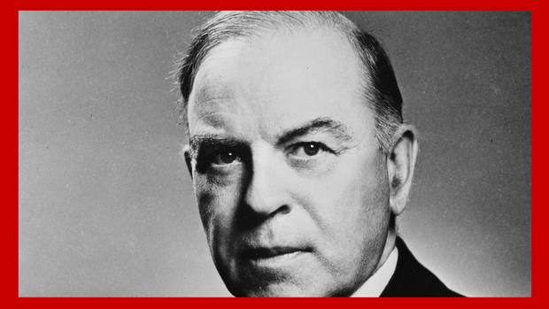 <p>William Lyon Mackenzie King, portrait. c. 1930</p>