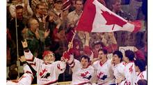 It seems almost quaint, now, that the world junior hockey championship used to be held in cities such as Red Deer, above, where Canada won gold in 1995. In 2015 and 2017 it will be at the Air Canada Centre in Toronto and the Bell Centre in Montreal. (Patrick Price/REUTER)