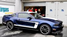 2012 Ford Mustang Boss 302 (Michael Bettencourt for The Globe and Mail)