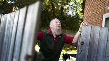 Farley Mowat, 89, says that with this last memoir he is finished writing. He is photographed in his Port Hope, Ontario home on October 13, 2010. (Peter Power/Peter Power/The Globe and Mail)