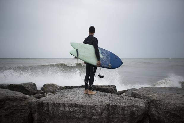 The popularity of cold-water surfing has grown with improving wetsuit technology and as warmer, traditional surf spots become more crowded.
