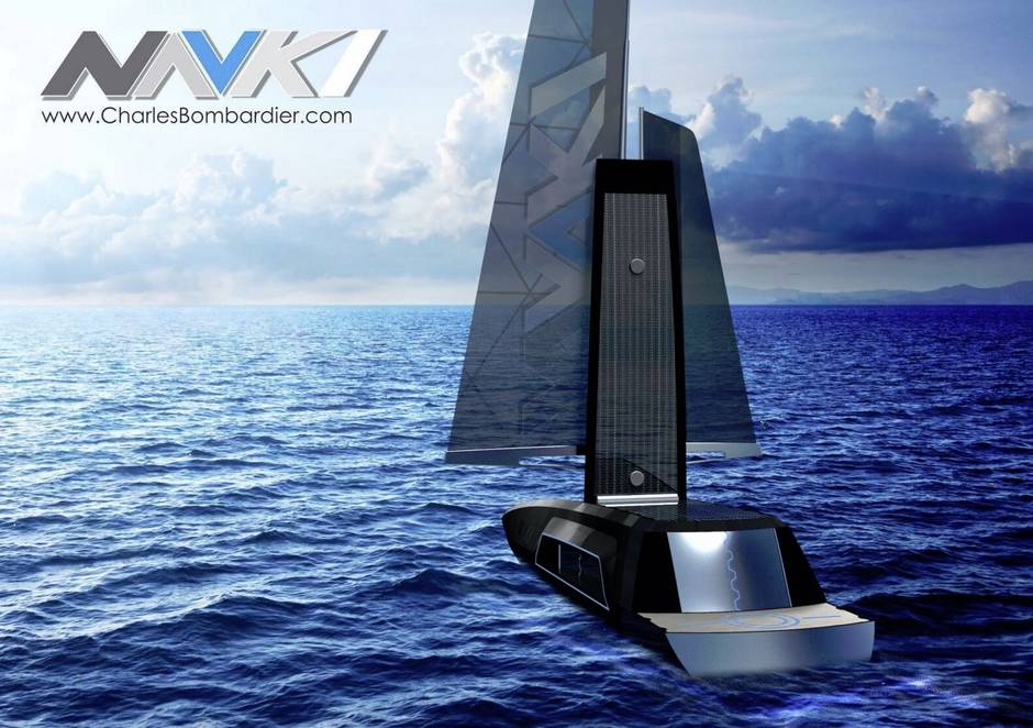 A self-driving sailboat to patrol the oceans and monitor the environment
