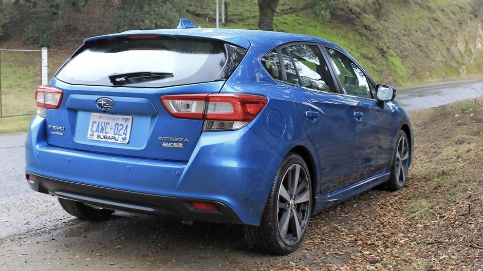 Review 2017 Subaru Impreza Is A Confidence Builder As