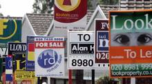 House prices in London on average are still rising on a monthly and annual basis, and are 20 per cent higher than a year ago, according Britain's Office for National Statistics. (RUSSELL BOYCE/REUTERS)