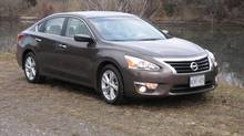 2013 Nissan Altima 2.5 SV (Bob English for The Globe and Mail)