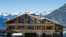 W Verbier is the closest hotel in town to the ski lift; it's right across the street. (Yves Garneau)