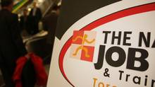 A job fair in Toronto during the recession (Fernando Morales/The Globe and Mail)