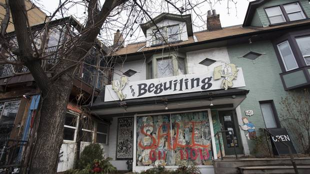 The closing of Honest Ed's garnered headlines but its neighbours along Markham Street will also be missed by faithful customers – notably the Beguiling, a comic store operated by Peter Birkemoe.