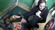 September 6, 2011. A little over three years after former Canadian freelance photojournalist Amanda Lindhout was kidnapped on the outskirts of Mogadishu, Somalia she has returned to Somalia to provide aid to its needy. (Peter Power/Peter Power/The Globe and Mail)