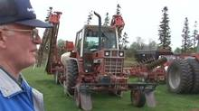 David Best, shown in a frame grab from his Youtube video about Best Acres Farm. (Youtube)