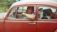 Peter Cheney in one of his Volkswagen Beetles (Peter Cheney/Peter Cheney/The Globe and Mail)
