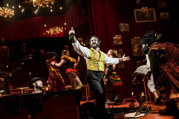 Natasha, Pierre & the Great Comet of 1812 is a sung-through, often theatrically tongue-in-cheek adaptation of War and Peace.