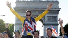 Bradley Wiggins of Britain (CHARLES PLATIAU/REUTERS)