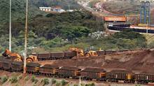 Vale's Brucutu iron ore mine, near Belo Horizonte, Brazil. (ALEXANDRE MOTA/AFP/Getty Images)
